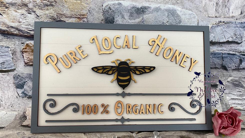 Pure local honey - Bee
