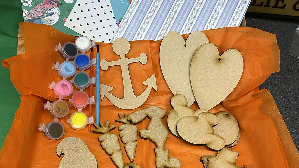 Easter craft box for Children