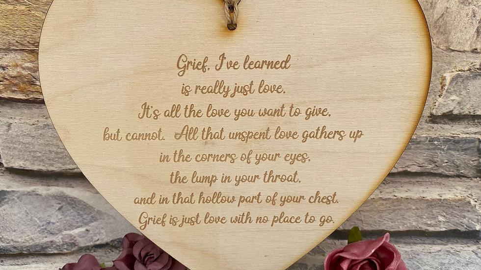 Grief heart
