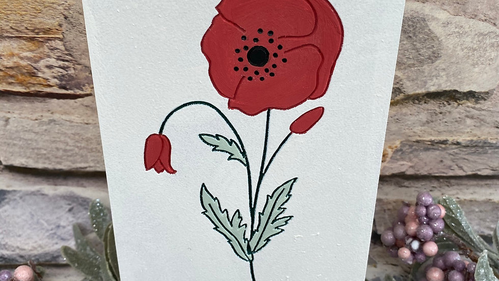freestanding Poppy