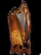 Harpe Herrou, gamme Telenn, modèle Queen Mary, sur les proportions de la Queen Mary Harp