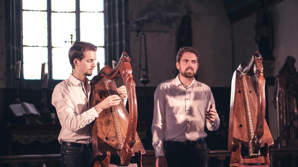 Mikaël Herrou et Jean Herrou