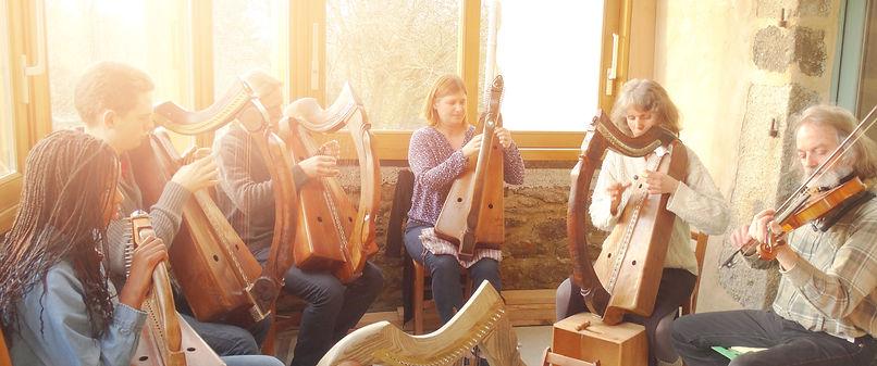Hent Telenn Breizh Stage Harpe Celtique ancienne