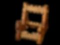 Harpes Herrou, accessoire, support en bois