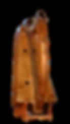 Harpe Herrou, modèle Telennig, petite harpe sur les proportions de la Queen Mary