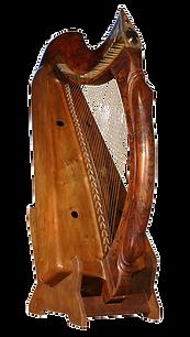 Harpe Herrou, gamme Telenn, modèle Chevalier de Jerpoint, inspirée de la Lamont Harp