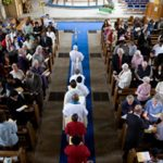 Procession as we begin worship