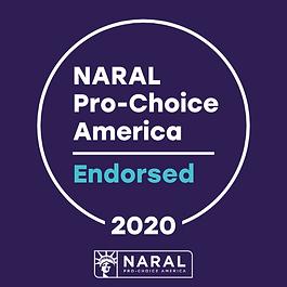 NARAL 2020 Endorsed Sticker.png