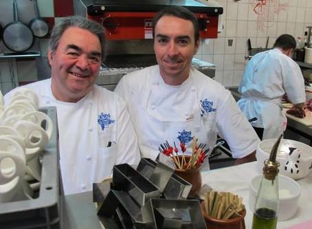 The Michelin-starred chefs of La Promenade