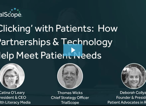 Supporting patients with impactful information on the web for clinical research