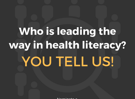 Who is leading the way in health literacy?