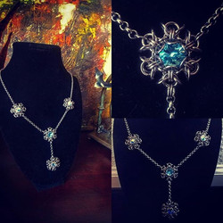 Snow Queen Necklace in stainless stee