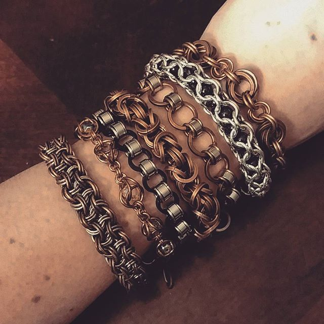 Just a few of the #bracelets I've been w