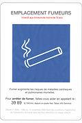 Emplacement fumeurs