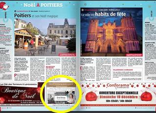 """1ère pub dans le """"7 à Poitiers"""""""