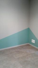 Angle de mur bureau