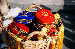 Greek hats, Athens