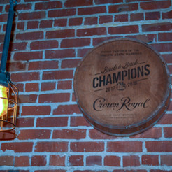 Character brick walls and industrial lighting makes it a pleasure watching your team play