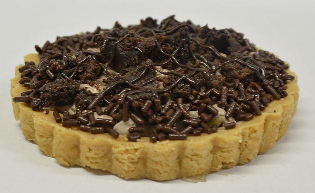 Tarta de mousse de chocolate & brownie