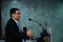 Vishal Arora giving Speech