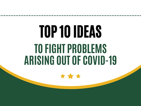 Top 10 Innovations to fight problems arising out of CoronaVirus