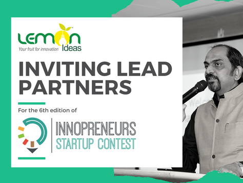 Inviting Lead Partners for Innopreneurs (6th Edition)