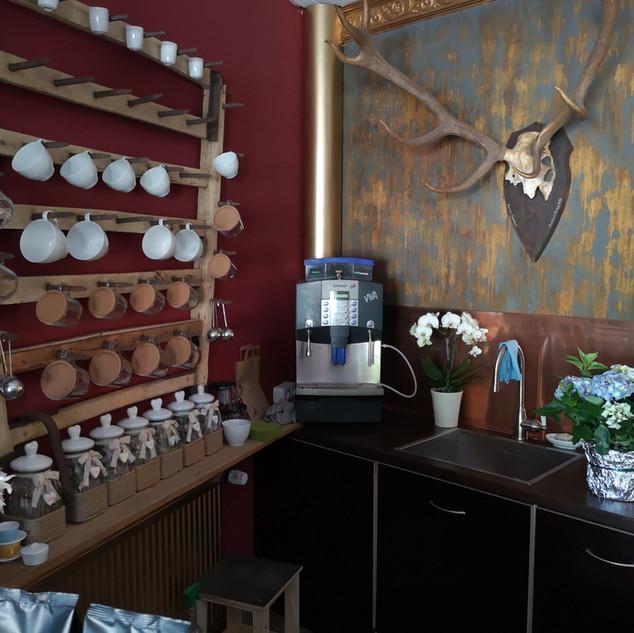 Unsere Kaffee Theke