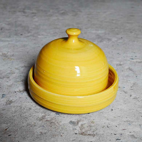 Loaf Pottery Buttercup Butter Dish