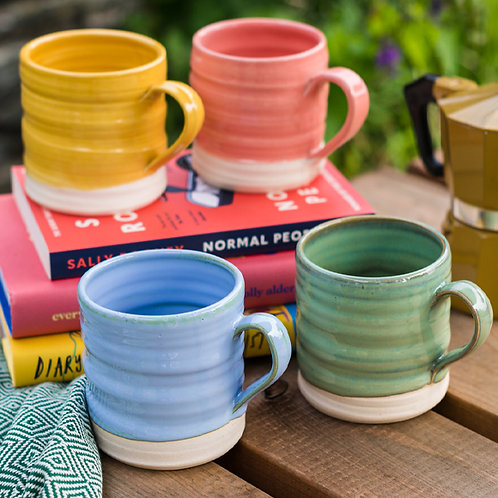 Loaf Mugs - Colour Collection x 4