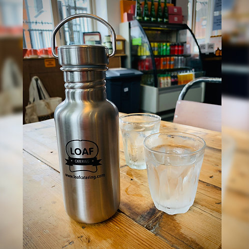 Stainless steel water bottles (500ml screw top)