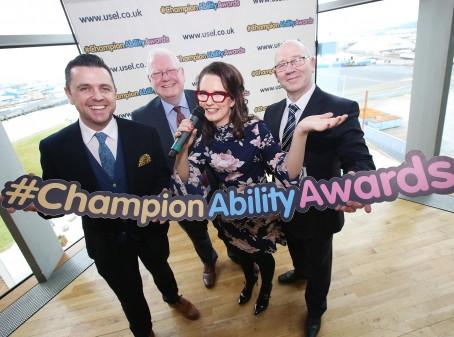 Titanic Success at Champion Ability Awards