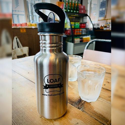 Stainless steel water bottles (500ml sport top)