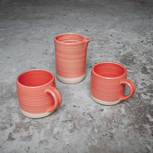 Loaf Pottery Espresso Set Blush