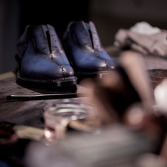 Making Off EB Shoe Collection