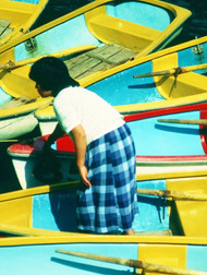 117  Boats- With Girl, Japan.JPG
