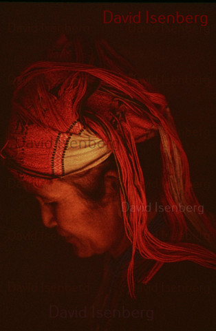 An Old Tribal Woman, Thailand