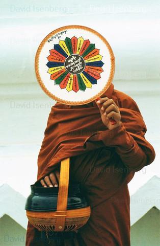 Monk, Burma