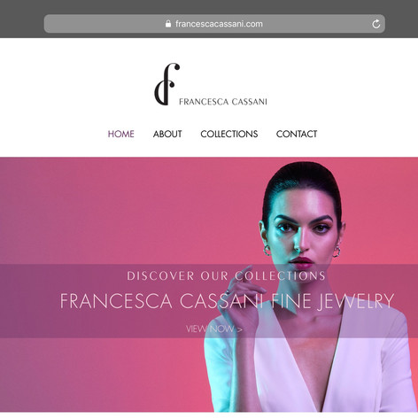 Francesca Cassani Fine Jewelry: Website