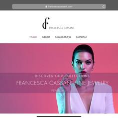 Francesca Cassani Fine Jewelry: Website