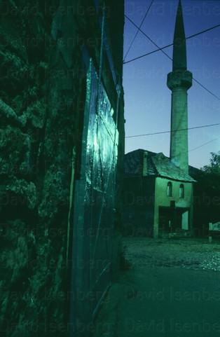 Mosque at Dawn, Mostar, Croatia