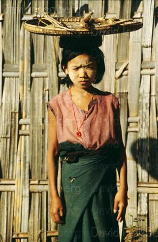 Young girl,  Burma