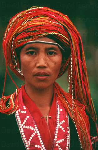 A Tribal Woman, Thailand