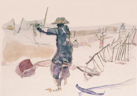 Travel Sketch - Burma