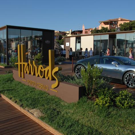 Bugatti & Harrods Temporary Store in Porto Cervo 2013