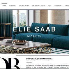 Corporate Brand Maison Website