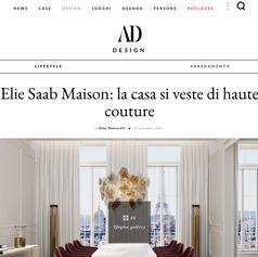 ELIE SAAB Maison Milan Showroom opening Press Release