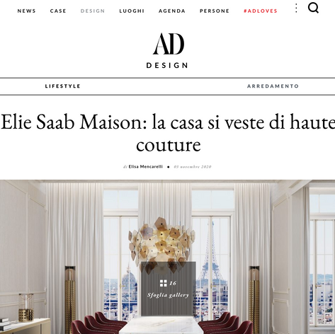 ELIE SAAB Maison Milan Showroom opening Press Release
