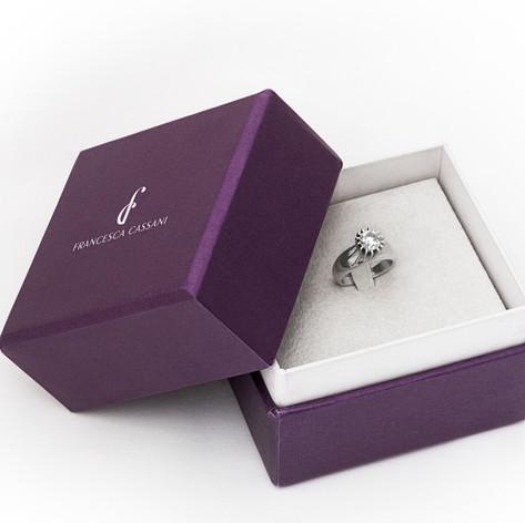 Francesca Cassani Fine Jewelry Packaging Development