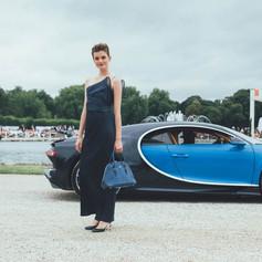 Giorgio Armani & Bugatti at Concours d'Elegance