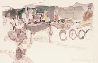 Travel Sketch, India